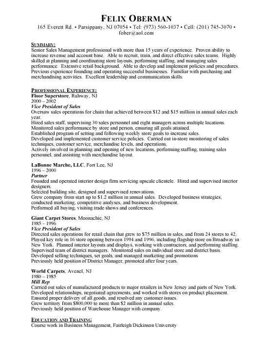 Resume Examples Vp Marketing Bestsellerbookdb